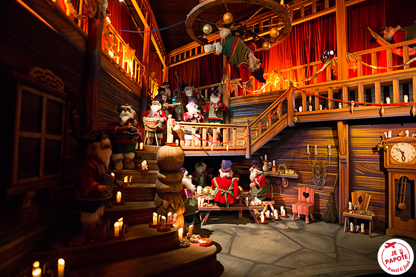 Attractions Santa Park