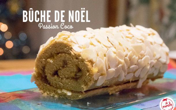 Bûche de Noël Passion Coco