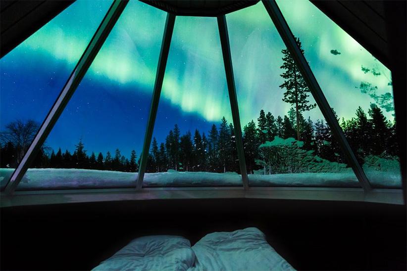 levi northern light huts