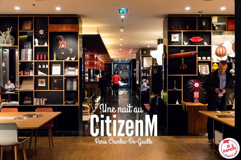 CitizenM Paris Roissy Charles De Gaulle