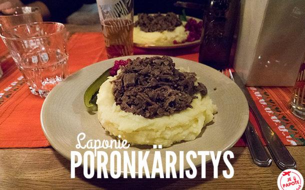 Poronkäristys, le plat traditionnel de Laponie