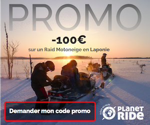 Promo motoneige Laponie