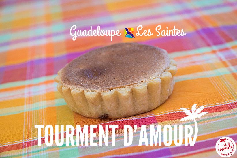 La recette des Tourments d'Amour, Les Saintes - Guadeloupe