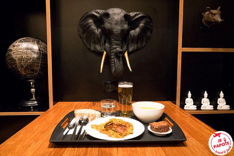 restaurant de l'hotel citizenm Roissy Charles de Gaulle