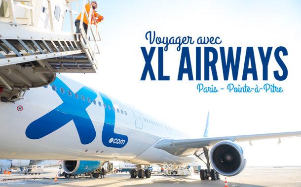 Un vol pas cher pour la Guadeloupe avec XL Airways