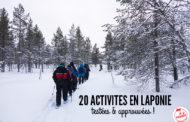 20 activités à faire en Laponie l'hiver