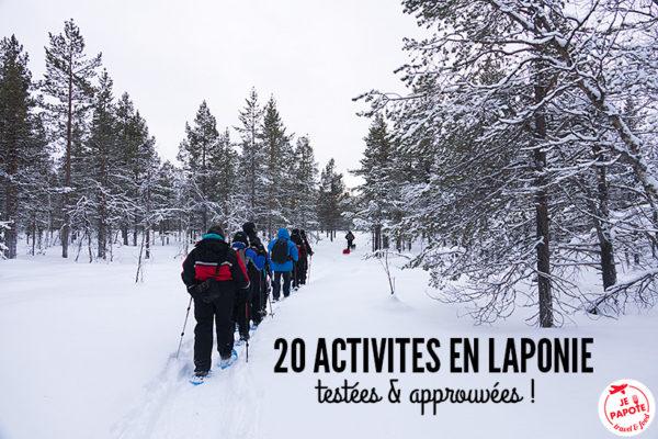 Activités Laponie