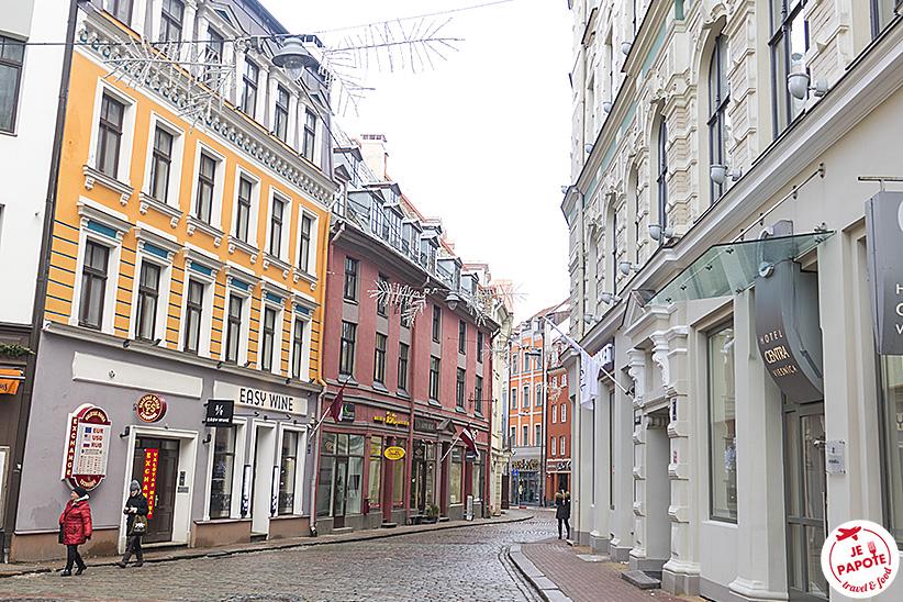 centre historique Riga