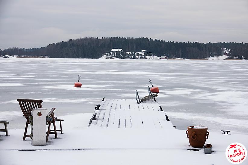 lac archipelago Finlande