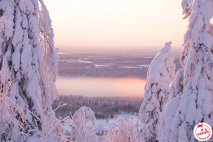 Levi Finlande hiver