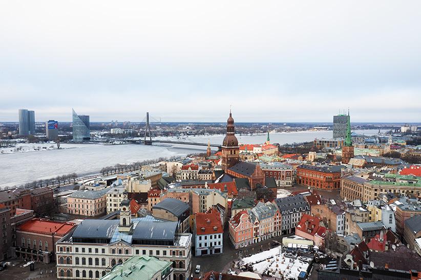 Riga vue panoramique