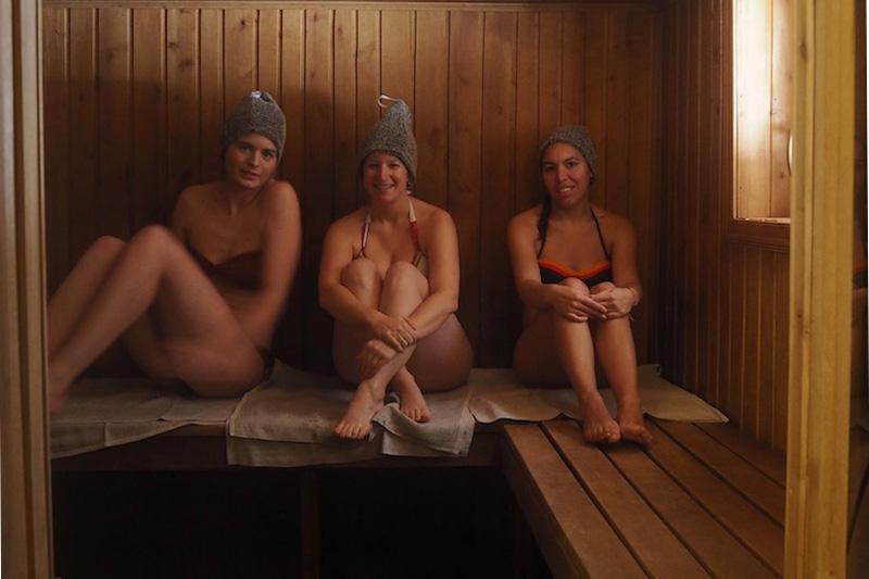 sauna letton