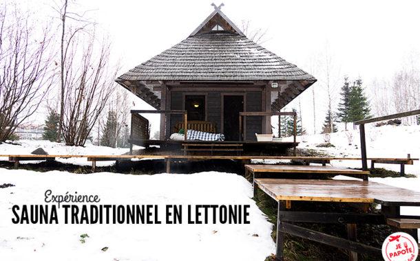 Le rituel du sauna en Lettonie