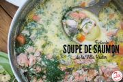 Soupe de saumon à la finlandaise de la Villa Reuter