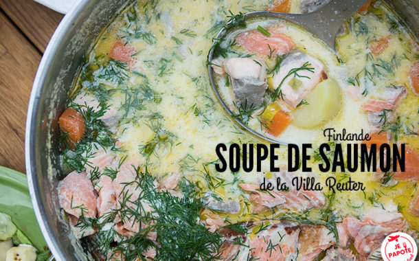 Lohikeitto : soupe de saumon finlandaise