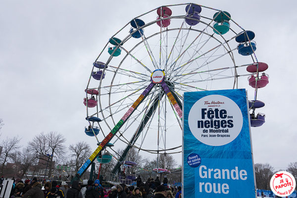 animations hiver montreal