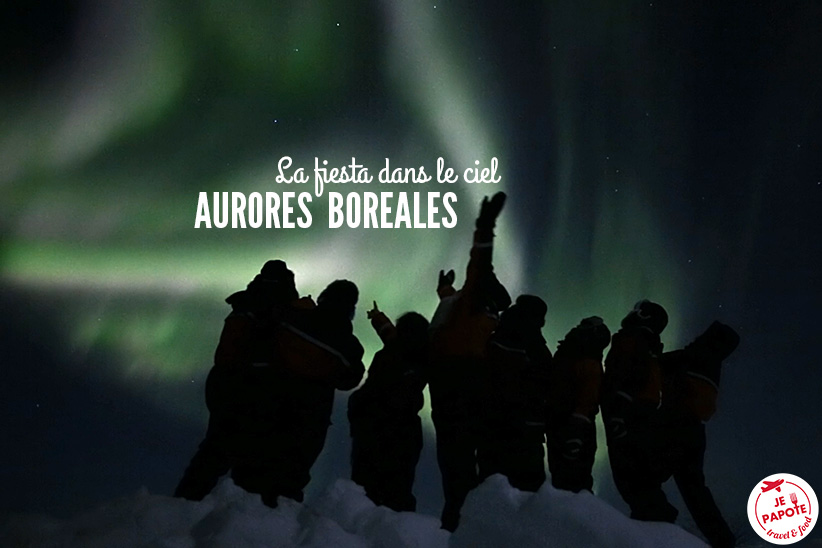 Festival d'aurores boréales