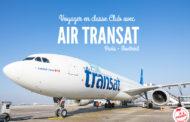 J'ai testé pour vous : La classe Club d'Air Transat