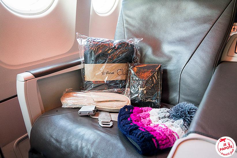 kit de voyage air transat