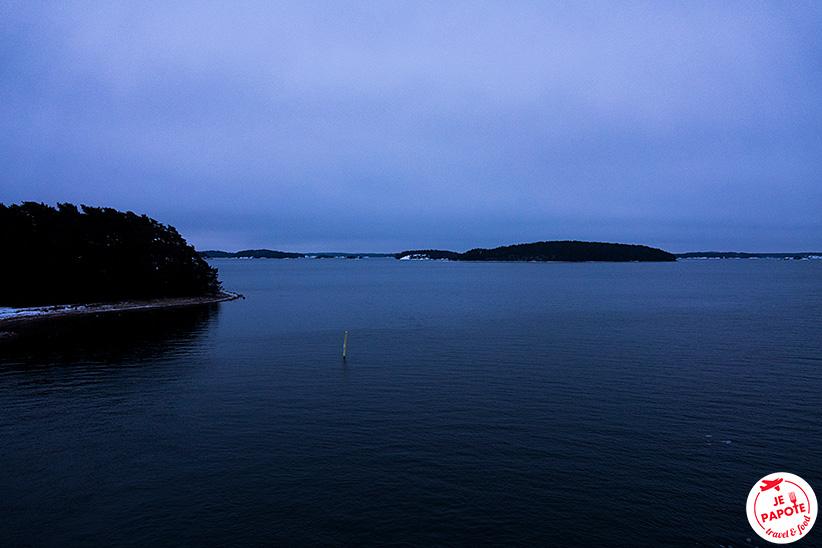 Ferry archipel finlandais