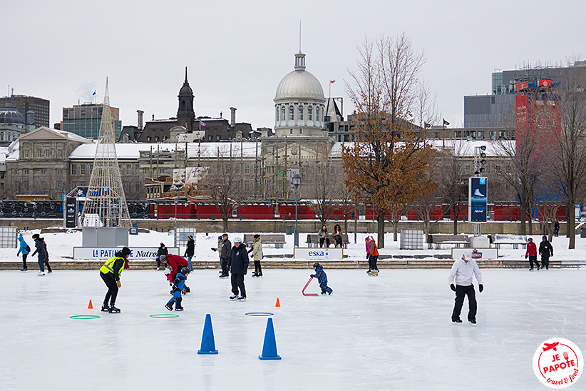 Patin à glace Montreal