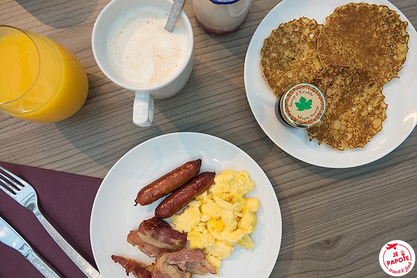 Petit dejeuner Oceania