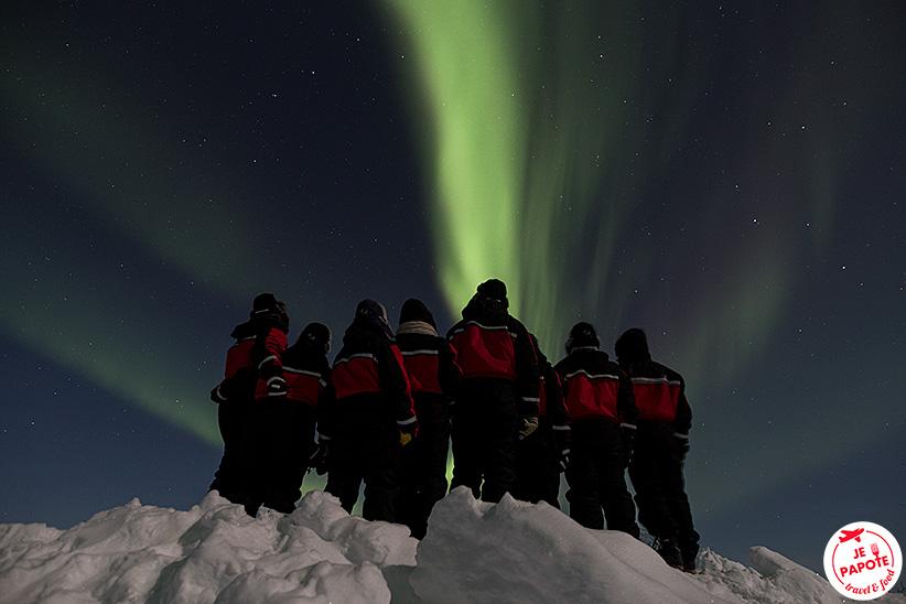 sejour aurores boreales 2017