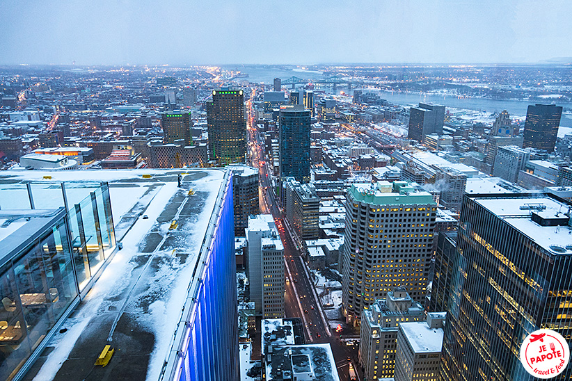 vue panoramique montreal