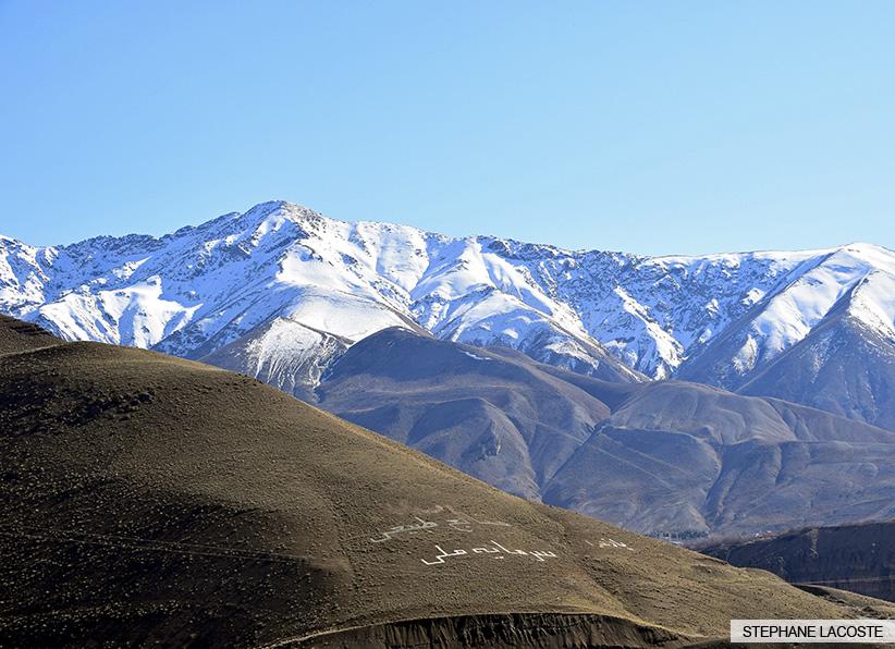Dizin Iran - Chalus Road
