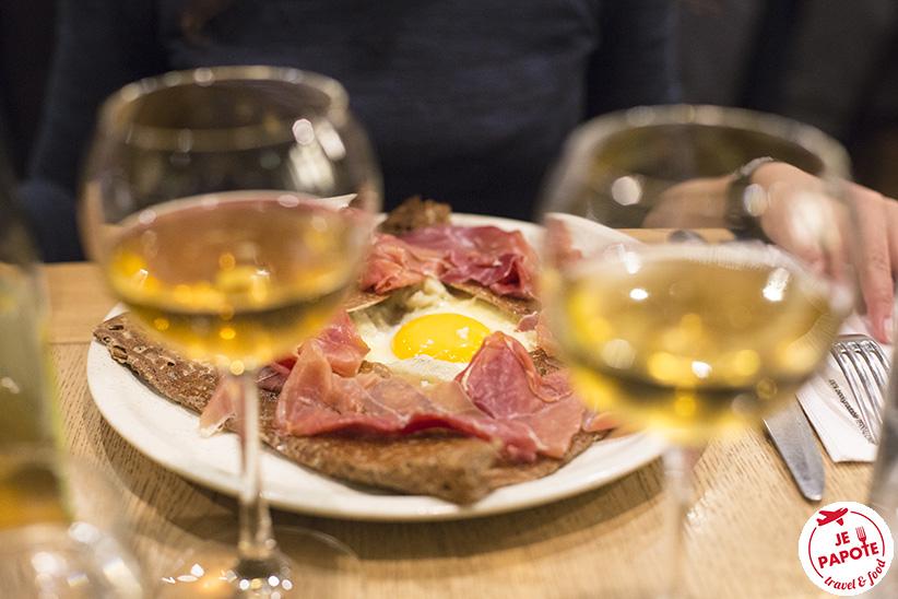 galette de sarrasin bretonne