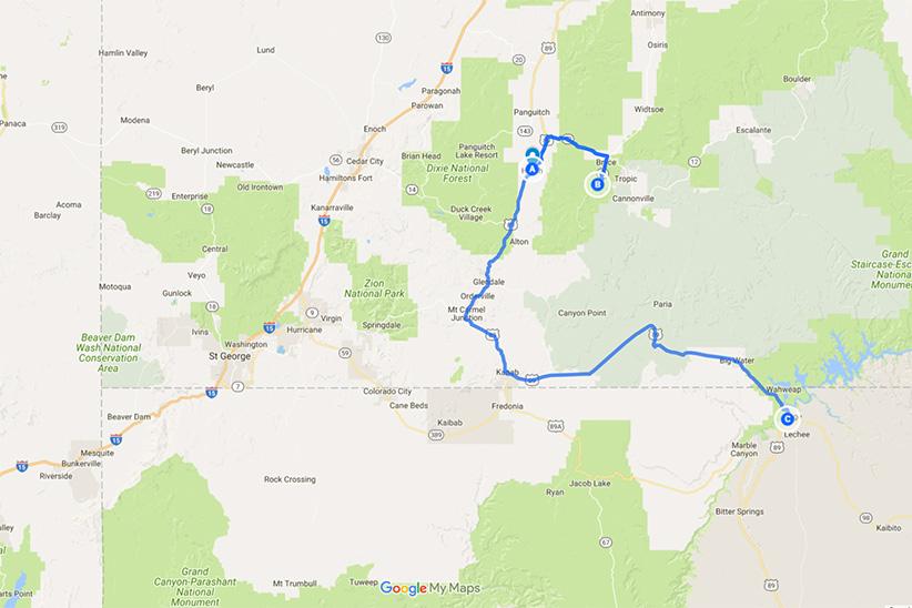 Bryce Canyon Page