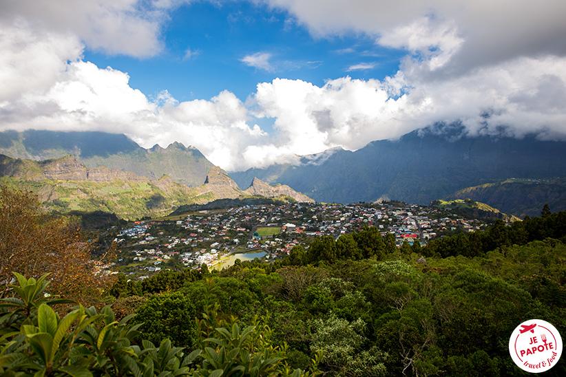Les 3 cirques de l'Ile de la Réunion