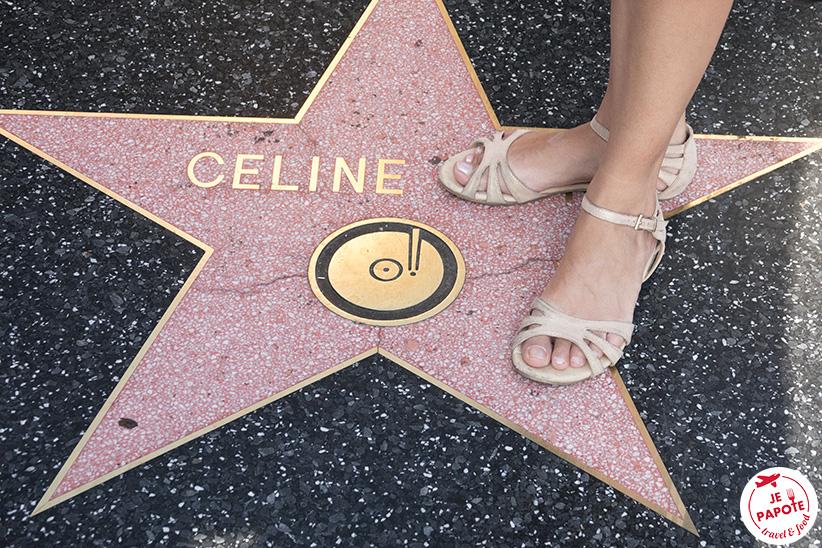 Etoile Céline Dion