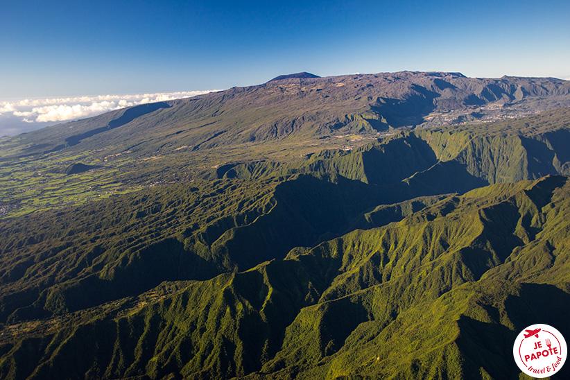 Survol Ile de la Réunion