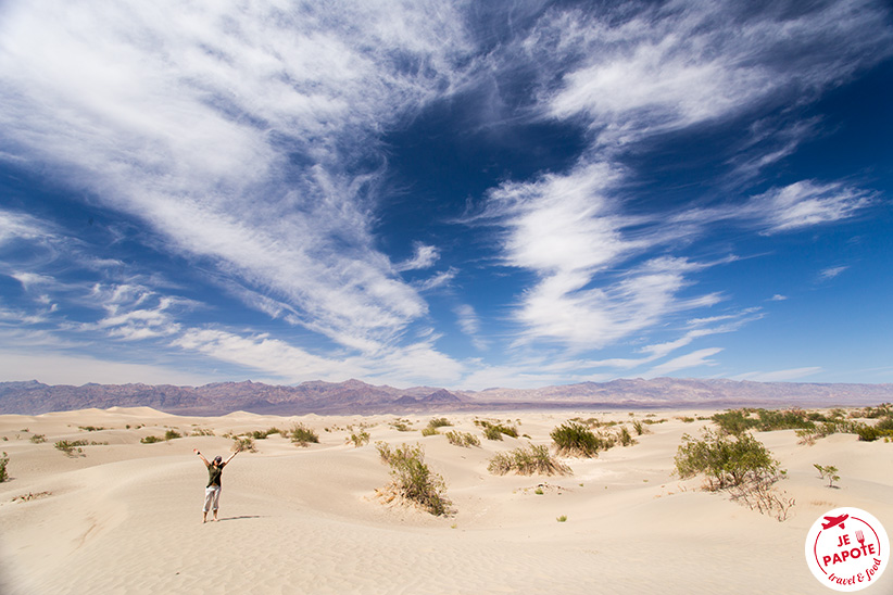 Vallée de la Mort en mai