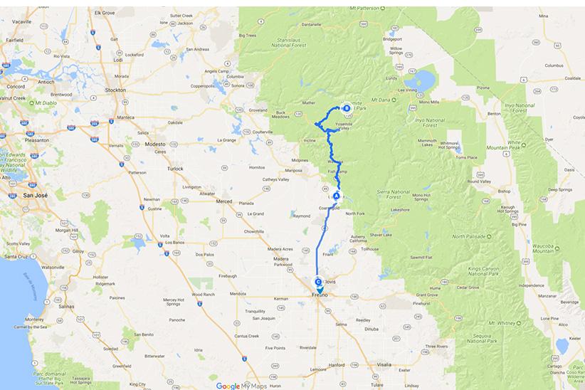 Oakurst - Yosemite - Fresno