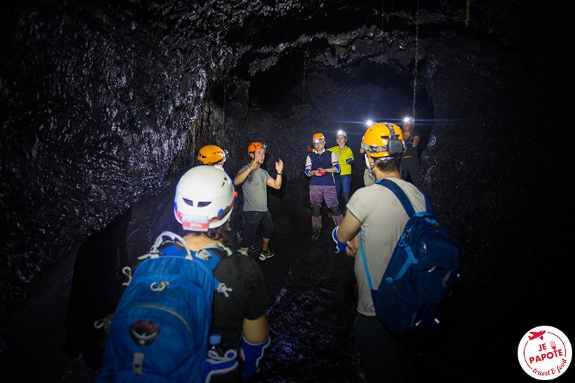 visiter tunnel de lave