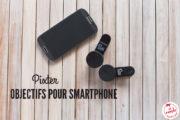 Pixter, mon objectif photo pour smartphone Samsung