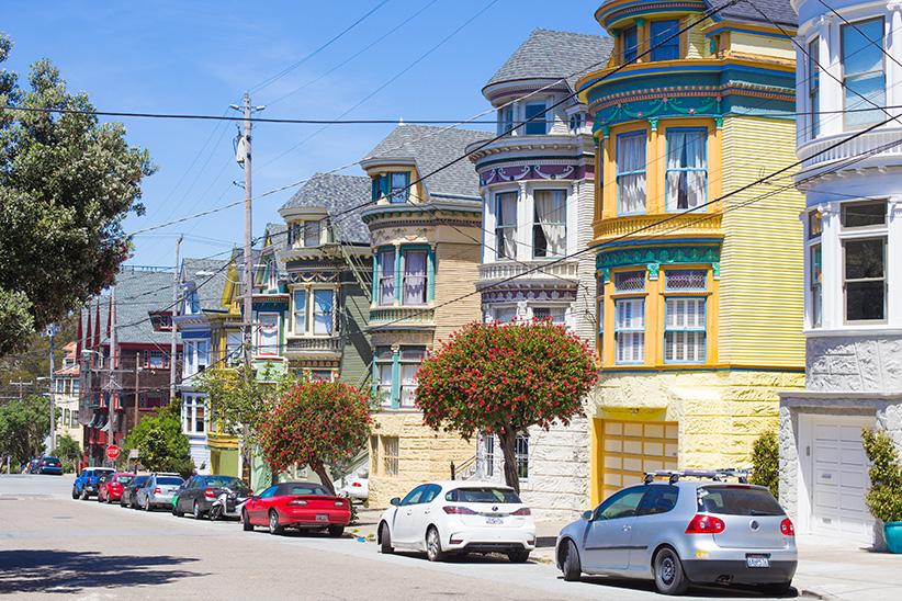 se garer à San Francisco