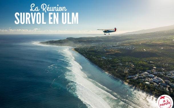 Survol en ULM La Réunion