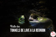Spéleo dans les tunnels de lave à La Réunion