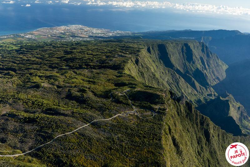 La Réunion vue du ciel