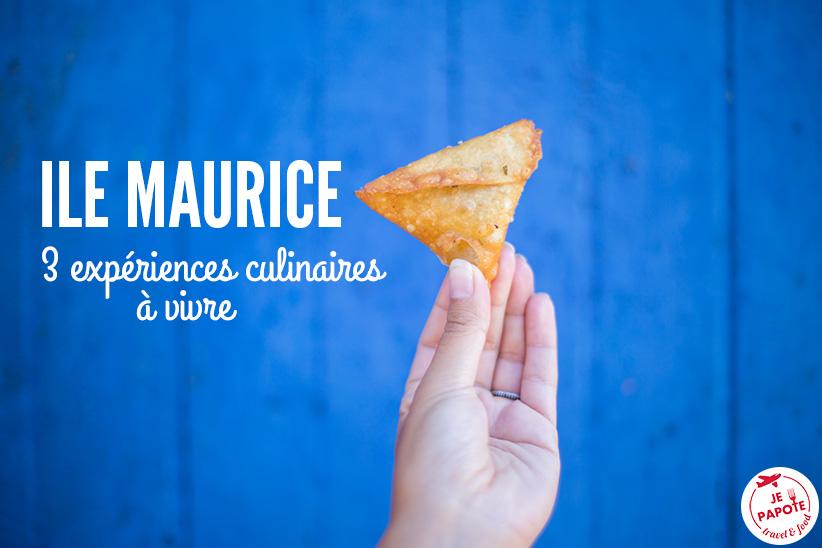 3 expériences culinaires à vivre à l'Ile Maurice