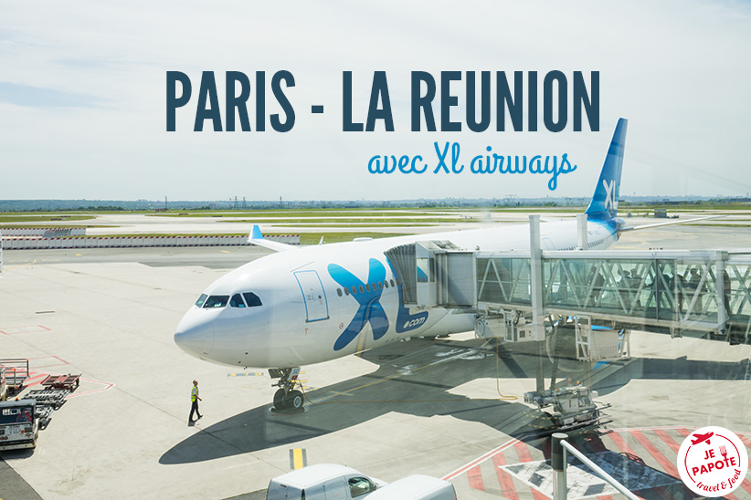 vol paris la r union avec xl airways je papote blog voyage. Black Bedroom Furniture Sets. Home Design Ideas