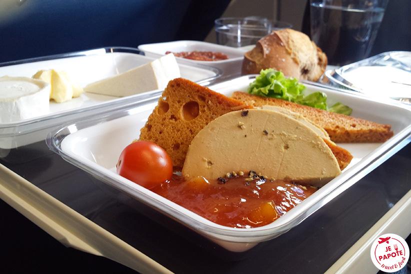 XL Airways repas
