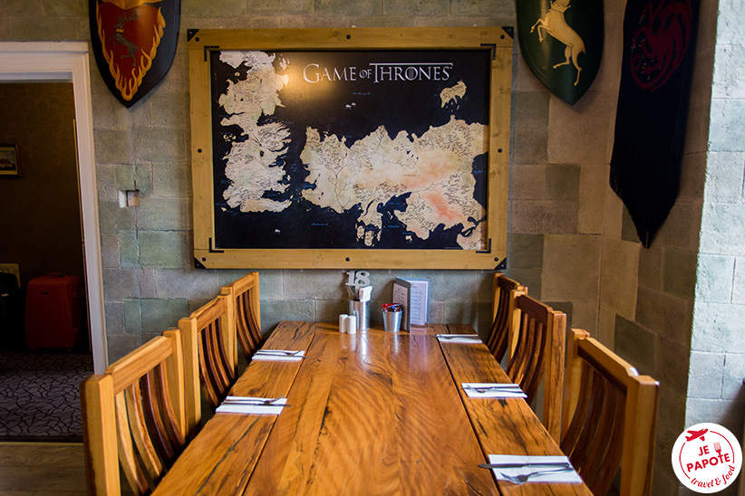 diner Game of Thrones