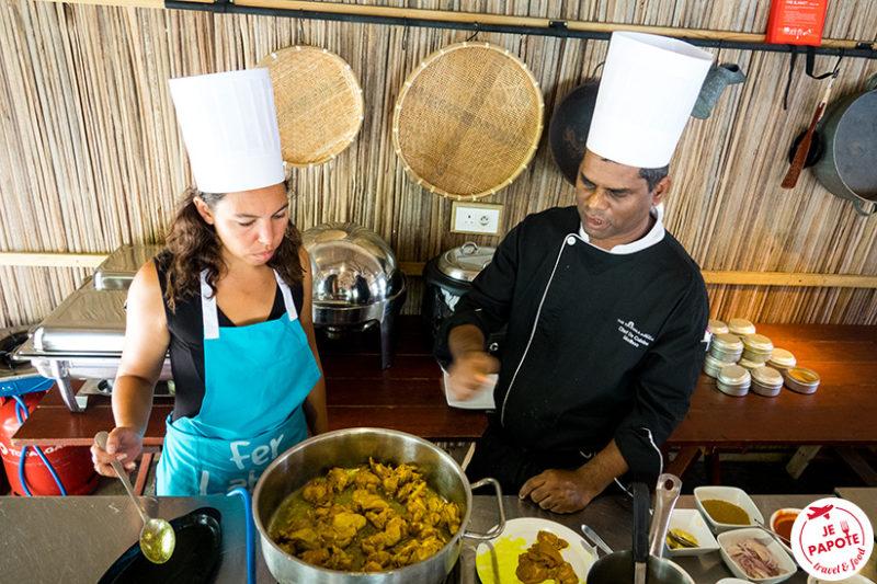 Cours de cuisine Ravenala