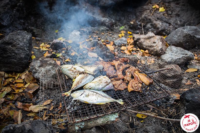 barbecue poissons et viandes