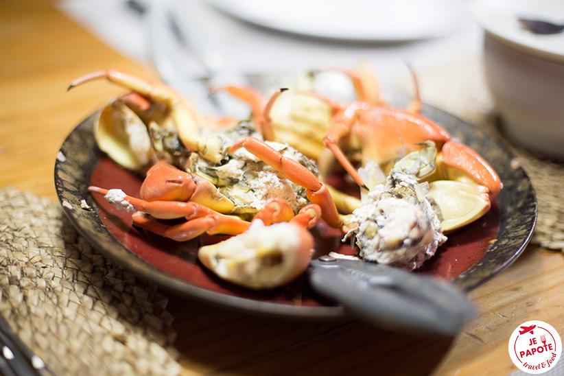 crabe frais Rodrigues
