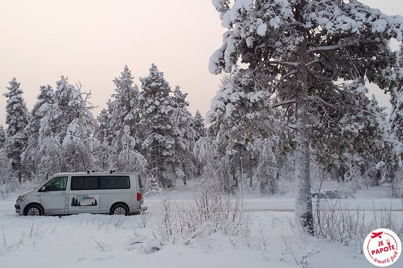 Début de saison en Laponie